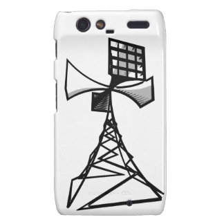 Siren radio tower droid RAZR case
