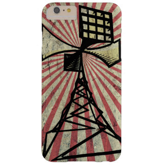 Siren radio tower barely there iPhone 6 plus case