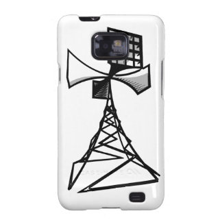 Siren radio tower samsung galaxy SII case