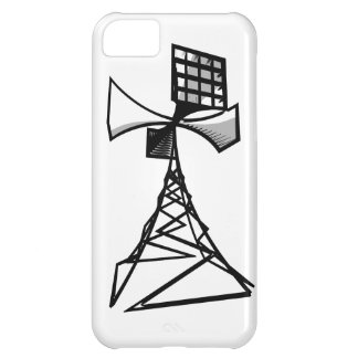Siren radio tower case for iPhone 5C