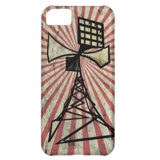 Siren radio tower iPhone 5C cover