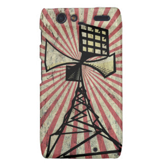 Siren radio tower motorola droid RAZR cases