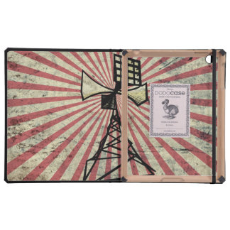 Siren radio tower iPad case