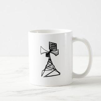 Siren radio tower coffee mug