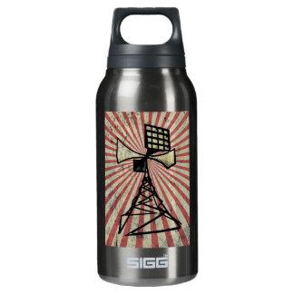 Siren radio tower insulated water bottle