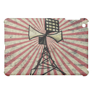 Siren radio tower iPad mini cover