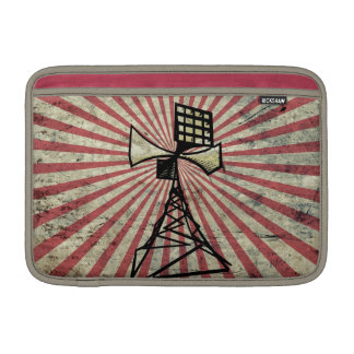 Siren radio tower MacBook sleeves
