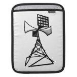 Siren radio tower iPad sleeve
