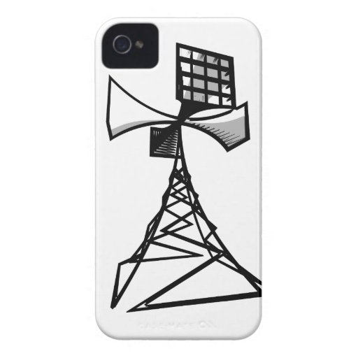Siren radio tower iPhone 4 cases