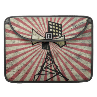 Siren radio tower sleeve for MacBook pro