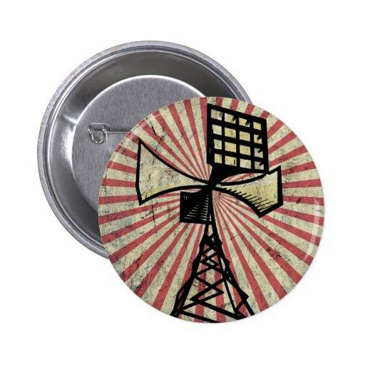 Siren radio tower pins