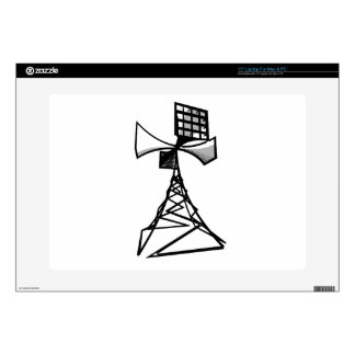 Siren radio tower decals for laptops