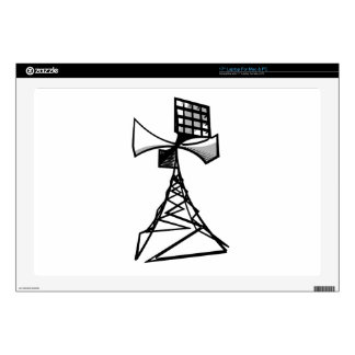 Siren radio tower skins for laptops
