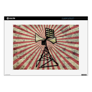 Siren radio tower laptop skins
