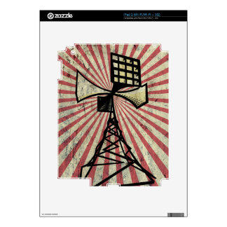 Siren radio tower iPad 2 decals