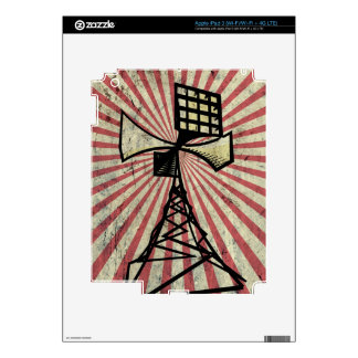 Siren radio tower iPad 3 skins