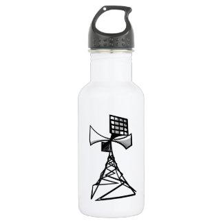 Siren radio tower stainless steel water bottle