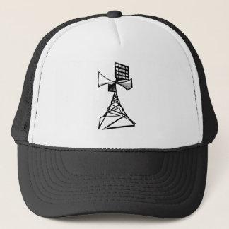 Siren radio tower trucker hat