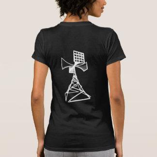 Siren radio tower t shirt