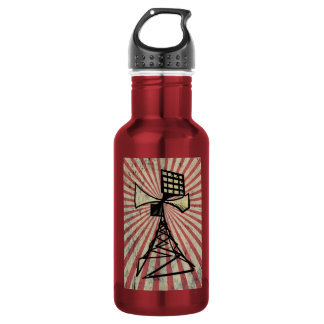 Siren radio tower water bottle