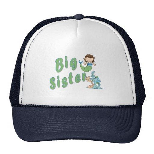 Sirena 3 de la hermana grande gorras