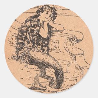 Sirena anhelante etiquetas