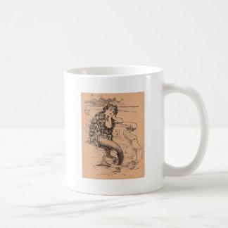 Sirena anhelante taza