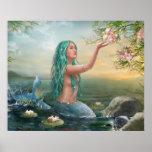 sirena Ariel del poster