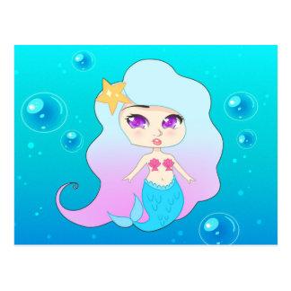 Sirena bonita (Gummie) Tarjetas Postales