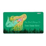 Sirena (Bookplate) Etiquetas De Envío