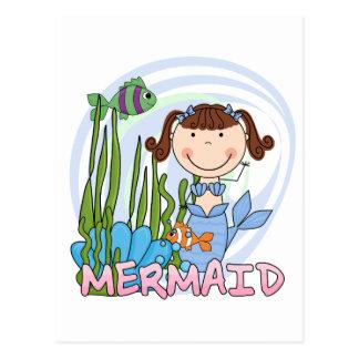 Sirena - camisetas y regalos triguenos postales