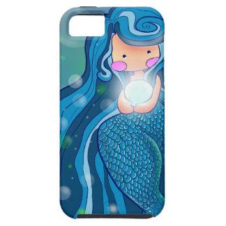 Sirena con el caso brillante del iPhone 5 de la iPhone 5 Carcasas