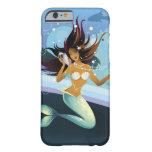 Sirena con la cáscara al oído funda de iPhone 6 barely there