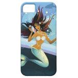 Sirena con la cáscara al oído funda para iPhone SE/5/5s
