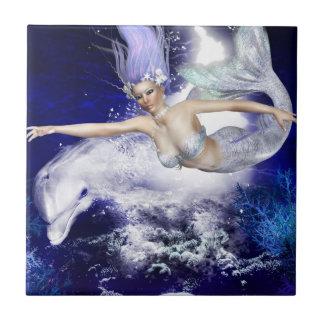 Sirena con la teja o Trivet del delfín