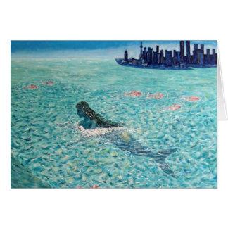 Sirena contra la marea tarjetón