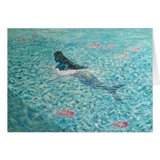 Sirena contra la marea felicitacion