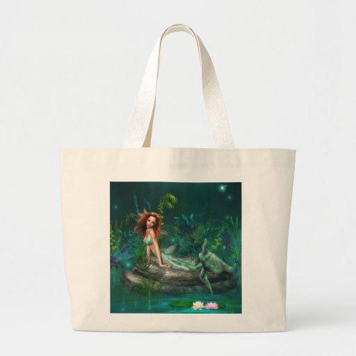 Sirena de Adventurine Bolsas