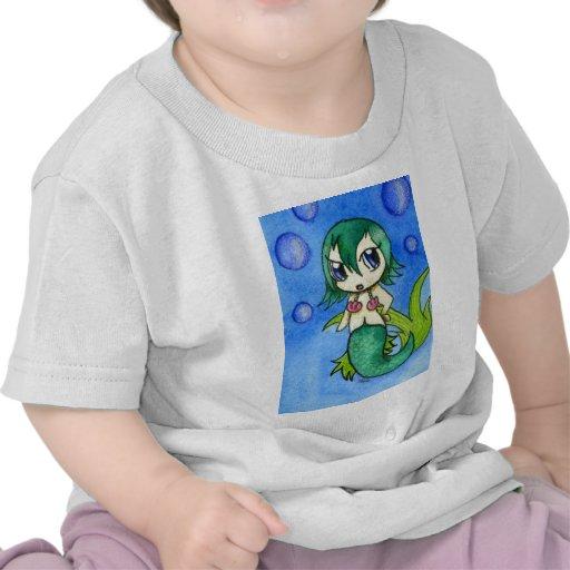 Sirena de Chibi Camiseta