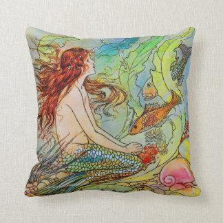 Sirena de Elenore Abbott Cojin