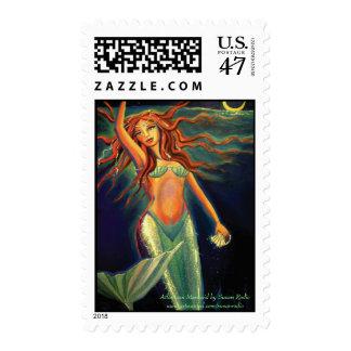 Sirena de la Atlántida - sellos de los E.E.U.U.