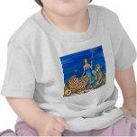 Sirena de la hada madrina camisetas