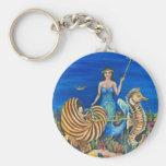 Sirena de la hada madrina llaveros personalizados