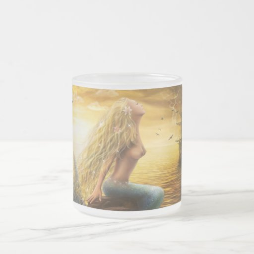 Sirena de la taza