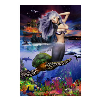 Sirena de Menehune (actualización) Posters