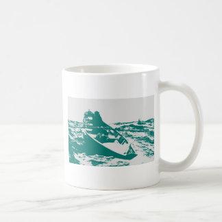 Sirena de niebla azul de Winslow Homer del barco Tazas