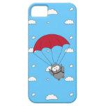 Sirena de Parachuter iPhone 5 Case-Mate Fundas