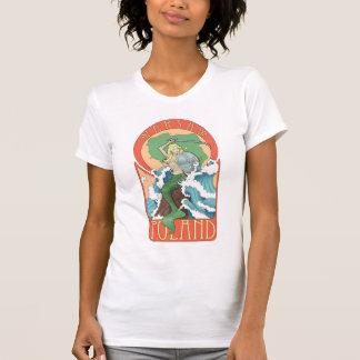 Sirena de Polonia Varsovia Camisetas