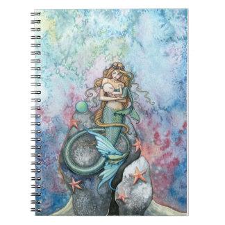 Sirena del amor y cuaderno eternos del bebé