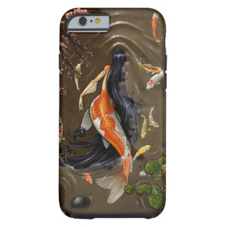 sirena del koi funda de iPhone 6 tough